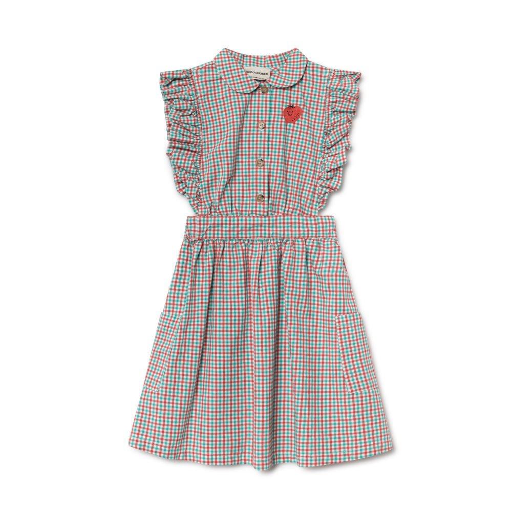 【50%OFF】2019SS No.119096 Vichy Apron Dress img