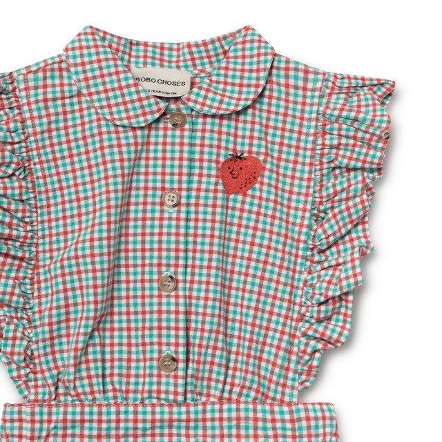 【50%OFF】2019SS No.119096 Vichy Apron Dress img1