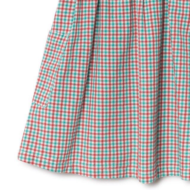 【50%OFF】2019SS No.119096 Vichy Apron Dress img2