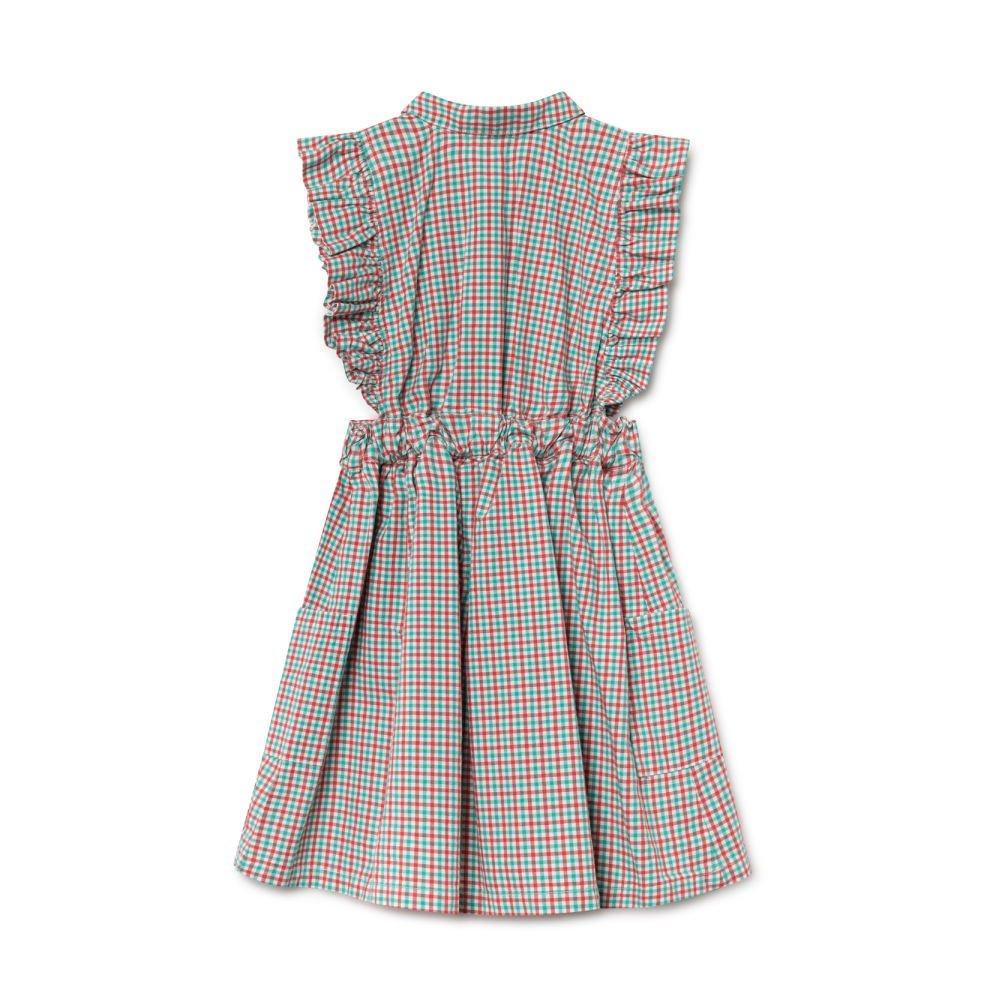 【50%OFF】2019SS No.119096 Vichy Apron Dress img3