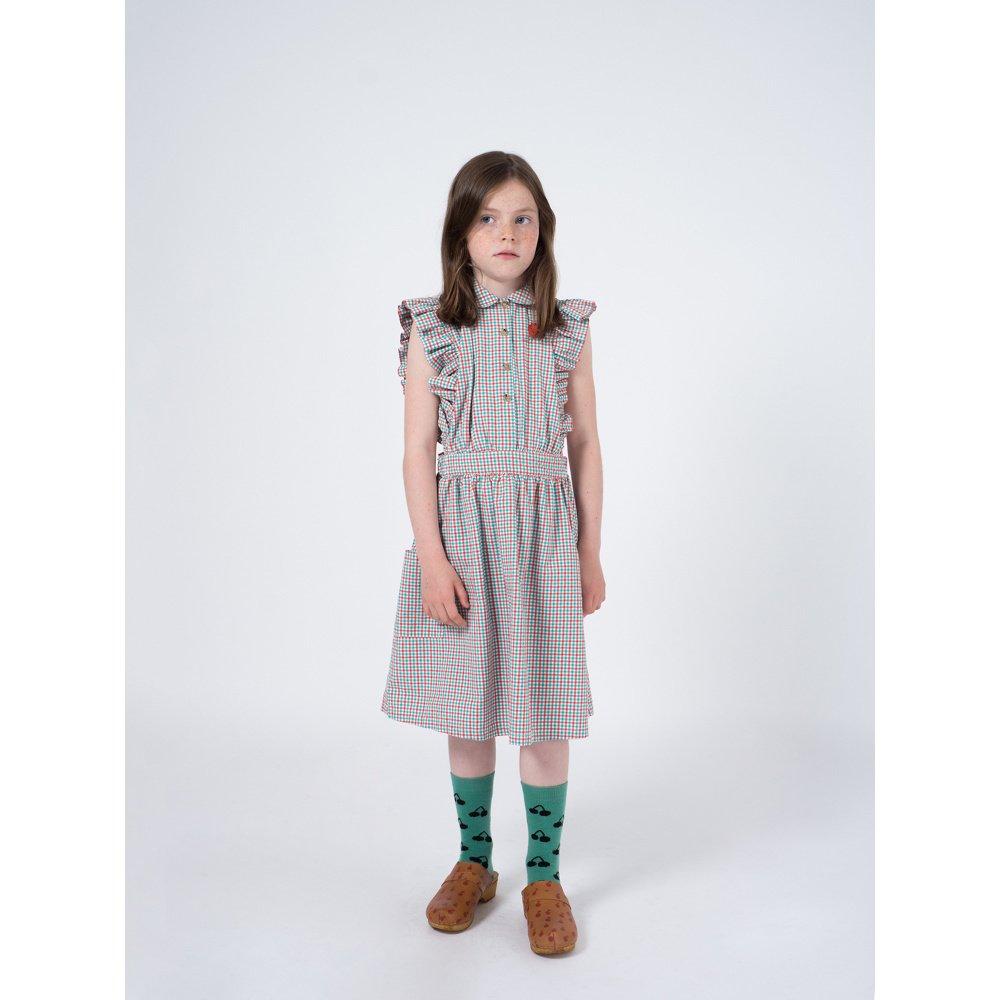 【50%OFF】2019SS No.119096 Vichy Apron Dress img4
