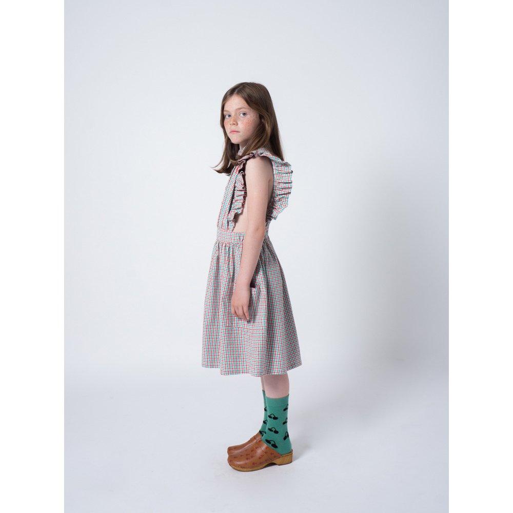 【50%OFF】2019SS No.119096 Vichy Apron Dress img5