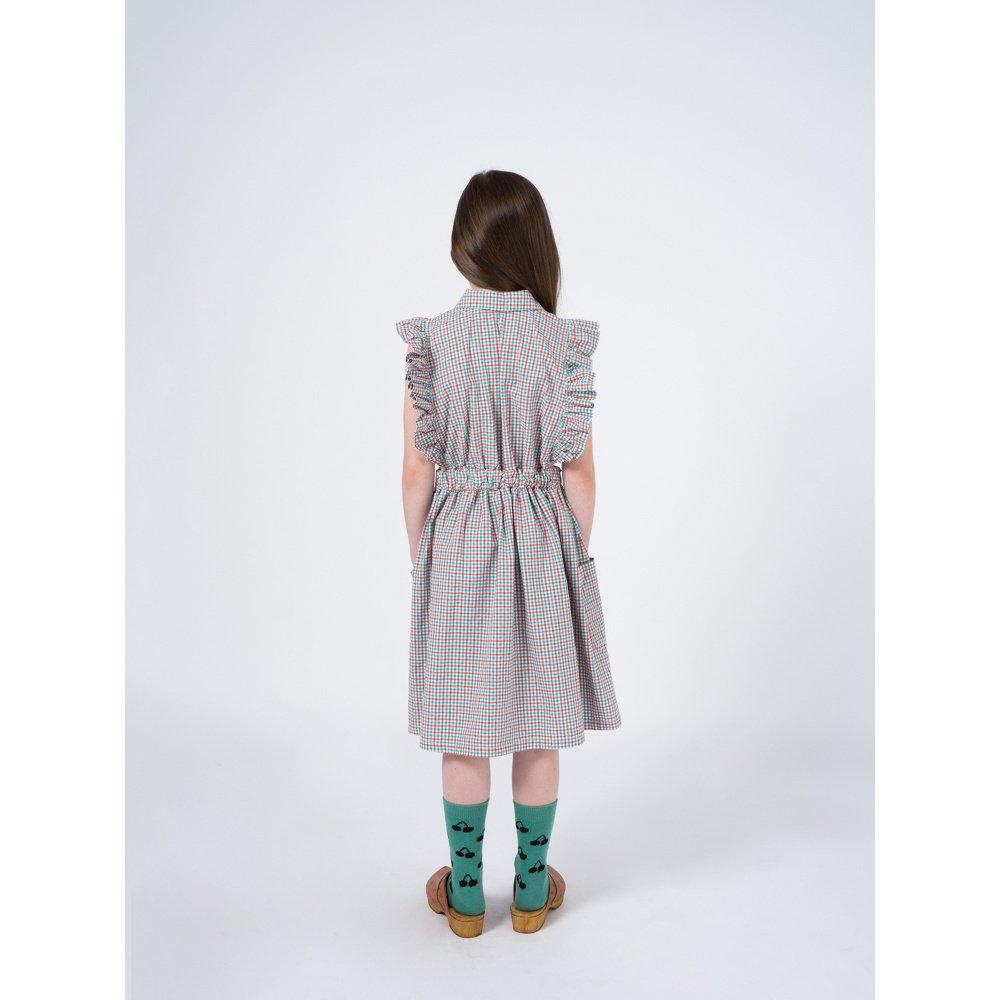 【50%OFF】2019SS No.119096 Vichy Apron Dress img6