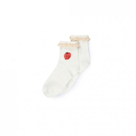 【20%OFF→30%OFF】2019SS No.119128 Strawberry Short Socks