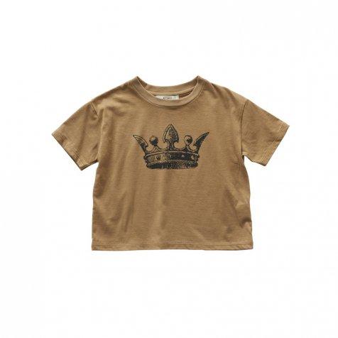 【1/25発売開始】crown T-shirts camel