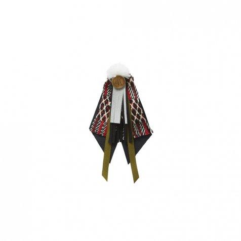 【1/25発売開始】cicada brooch red