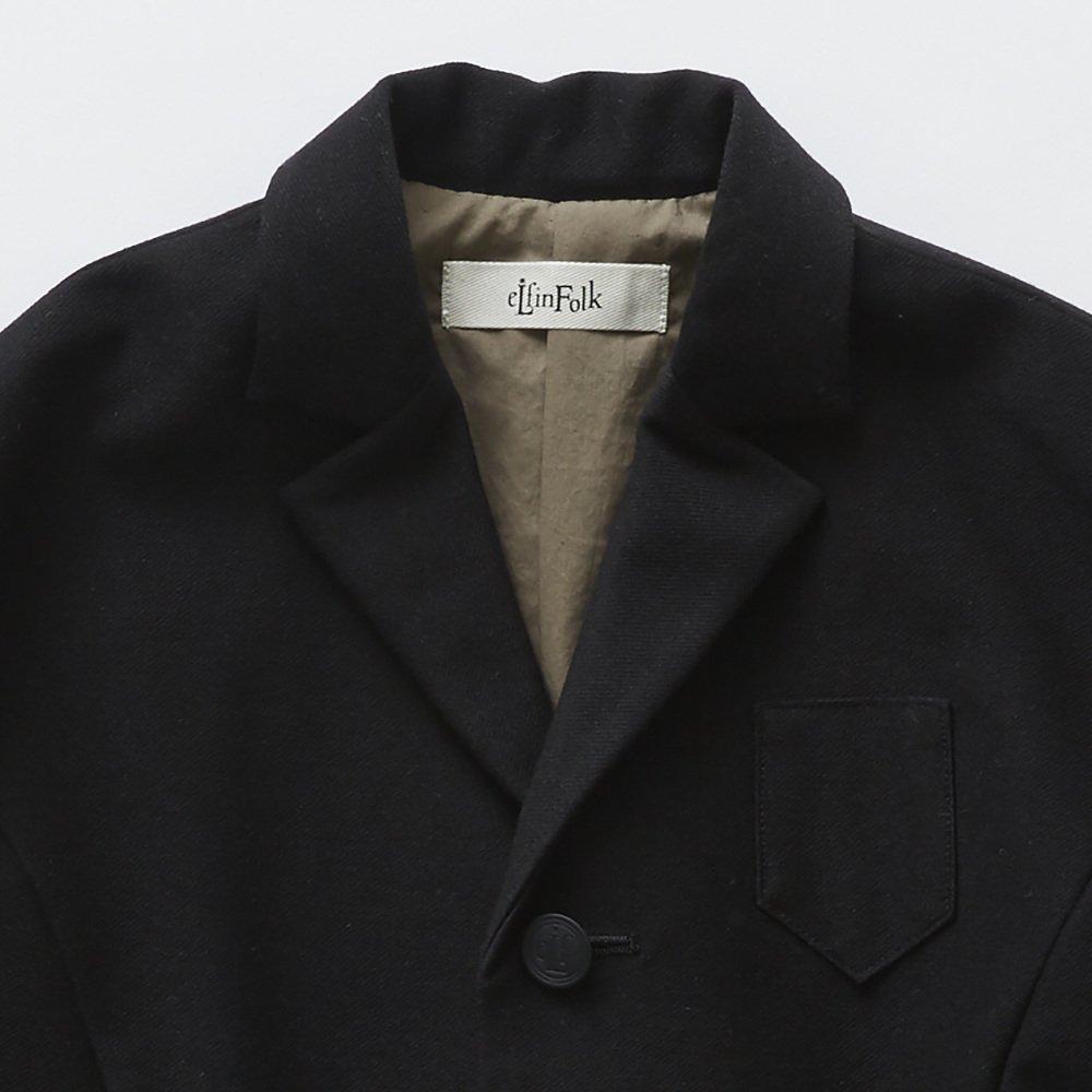 【SUMMER SALE 20%OFF】 ceremony tailored jacket black img1