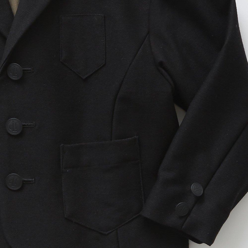 【SUMMER SALE 20%OFF】 ceremony tailored jacket black img2