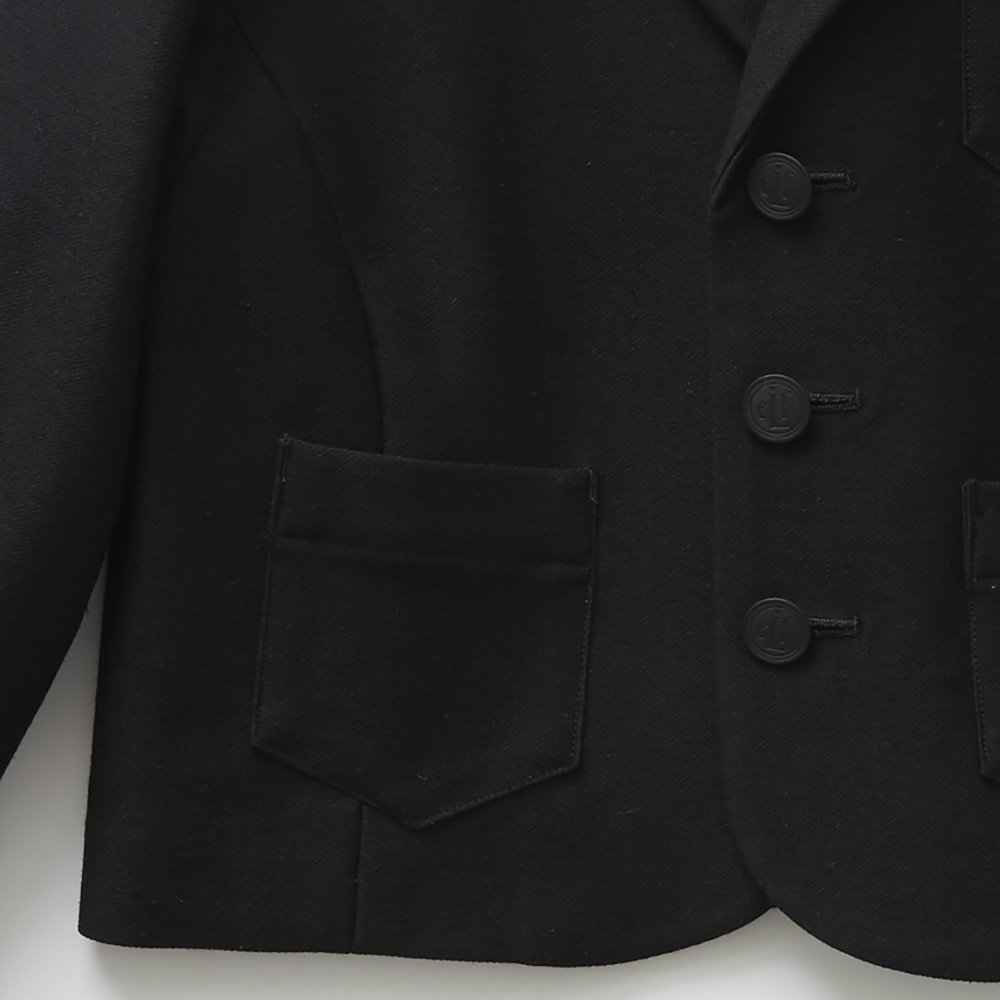 【SUMMER SALE 20%OFF】 ceremony tailored jacket black img3