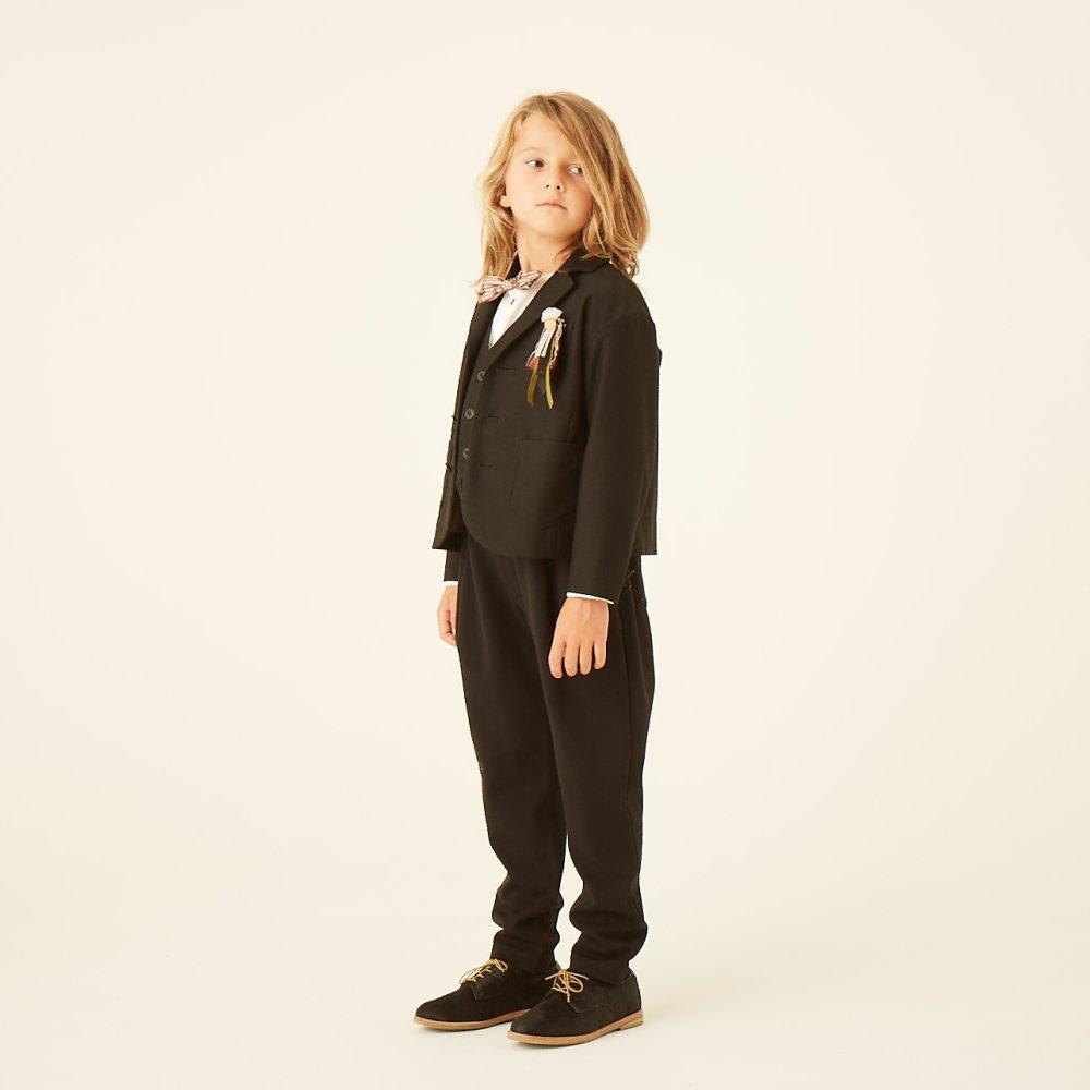 【SUMMER SALE 20%OFF】 ceremony tailored jacket black img4