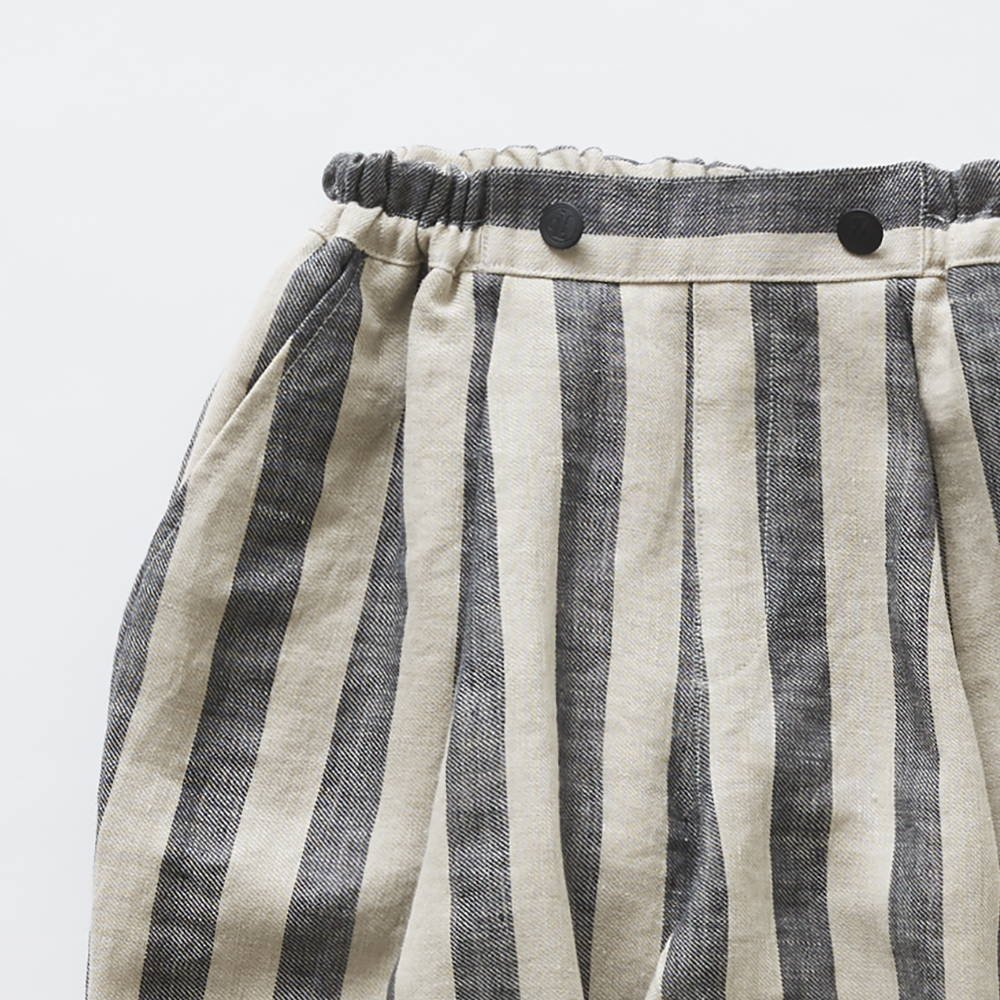 stripe linen pants img1