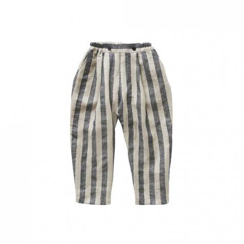 【30%OFF】stripe linen pants