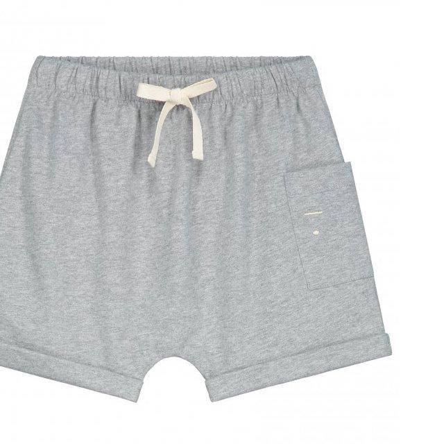 【NEW】One Pocket Shorts Grey Melange img1