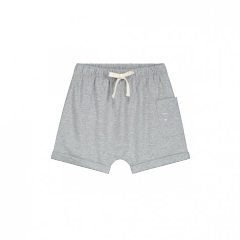 One Pocket Shorts Grey Melange