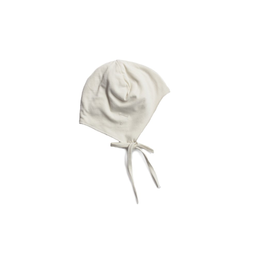 【NEW】Baby Hat with Strings Cream img