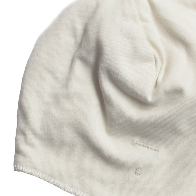 【NEW】Baby Hat with Strings Cream img2