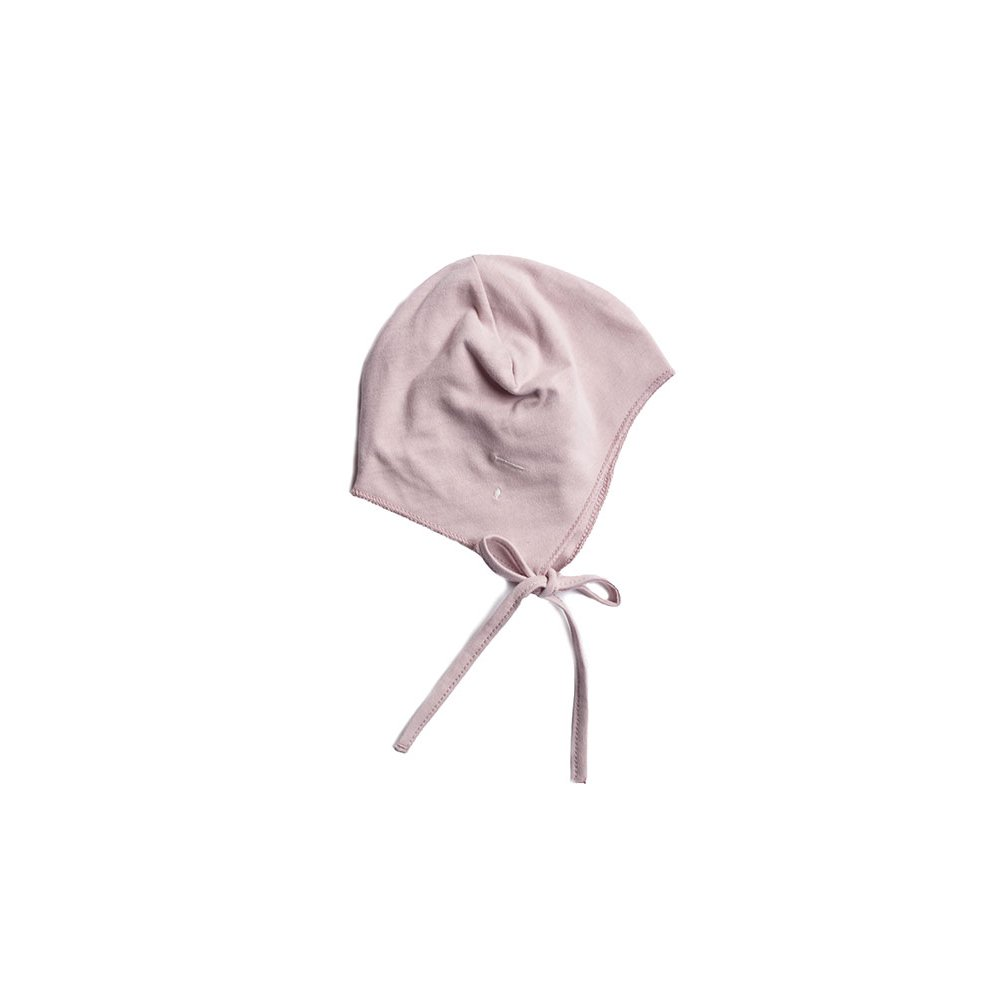 Baby Hat with Strings Vintage Pink img