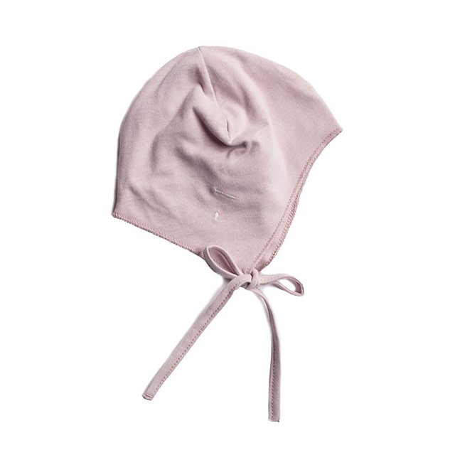 Baby Hat with Strings Vintage Pink img1