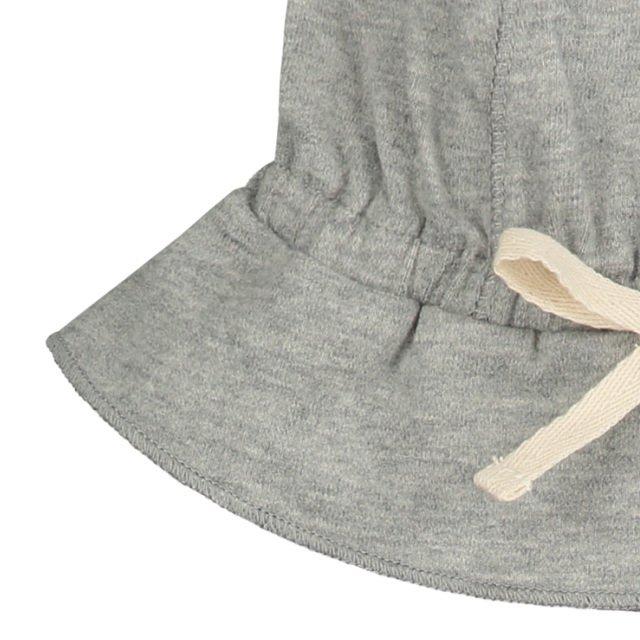 【NEW】Baby Sun Hat Grey Melange img3