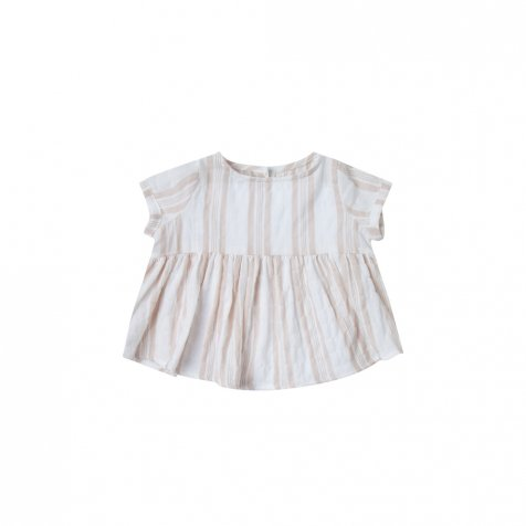 sand stripe jane blouse