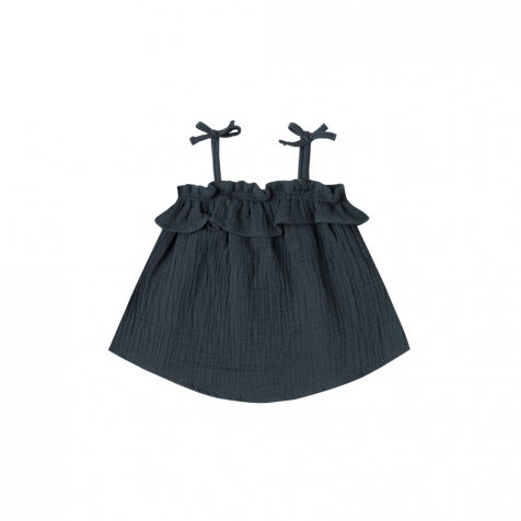 【40%OFF】ruffle tube top storm