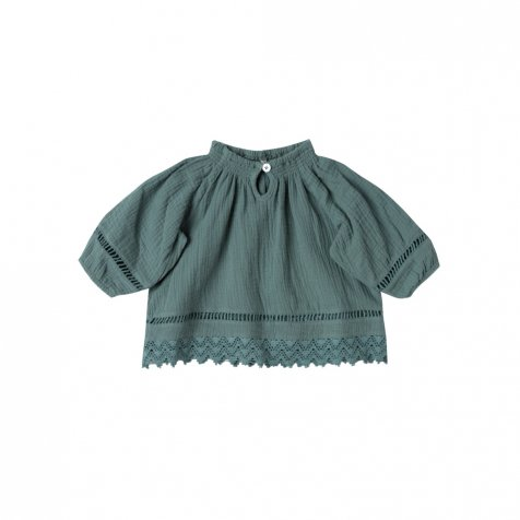 【40%OFF】quincy blouse rainforest