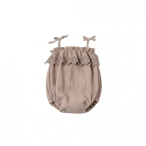 【SUMMER SALE 20%OFF】ruffle romper sand