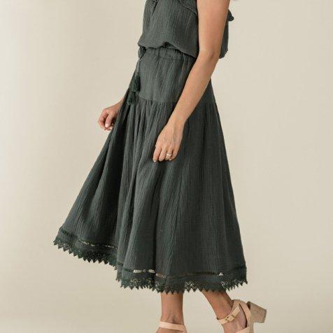 mila maxi skirt storm Lady's 大人用