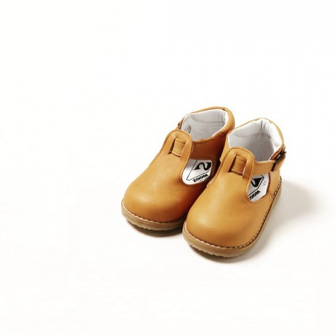 【SUMMER SALE 20%OFF】 Baby T-Strap CAMEL