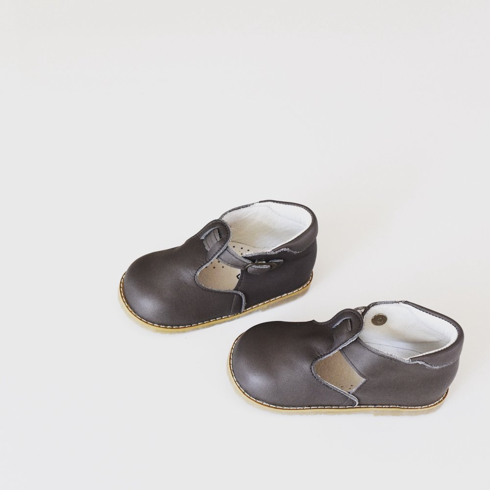 【SUMMER SALE 20%OFF】 Baby T-Strap GREGE img