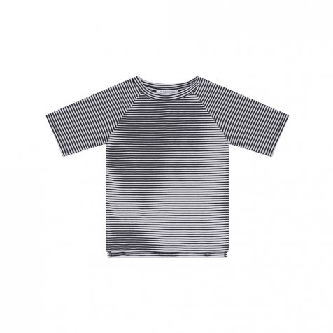 【SUMMER SALE 20%OFF】 BASICS T-shirt B/W stripes