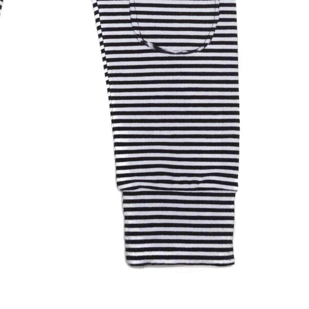 【20%OFF→30%OFF】BASICS Legging B/W stripes img2