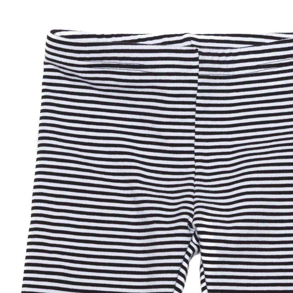 【20%OFF→30%OFF】BASICS Legging B/W stripes img3