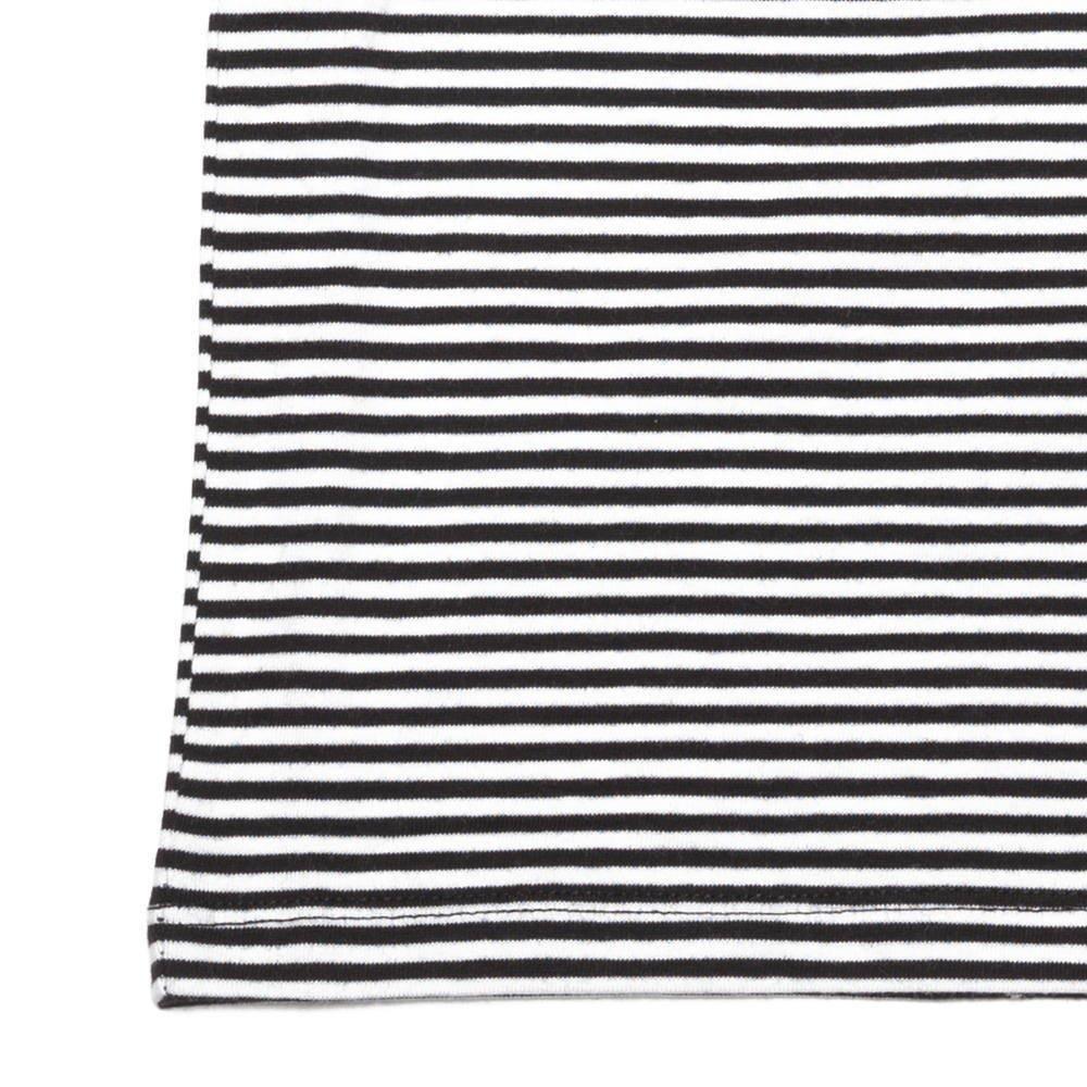 【SUMMER SALE 20%OFF】 BASICS Singlet B/W stripes img2