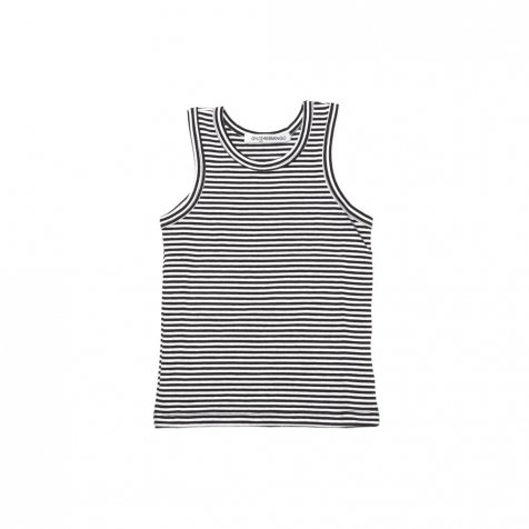 【SUMMER SALE 20%OFF】 BASICS Singlet B/W stripes