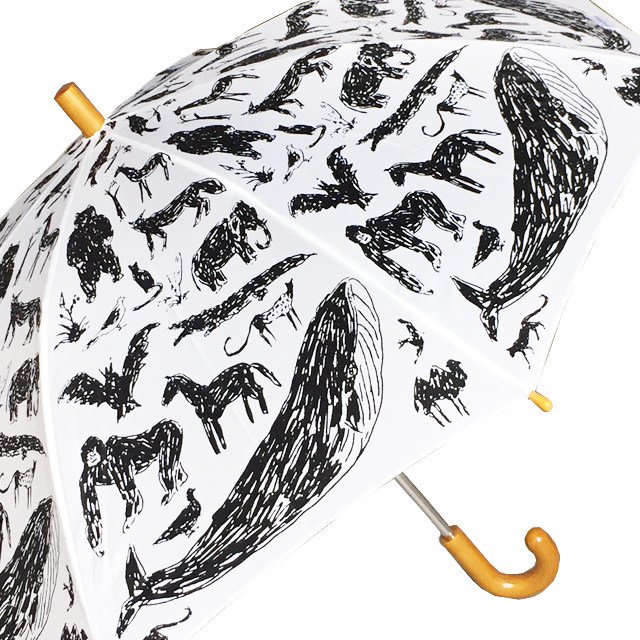 ANIMAL UMBRELLA with Tanaka Kentarou White img1