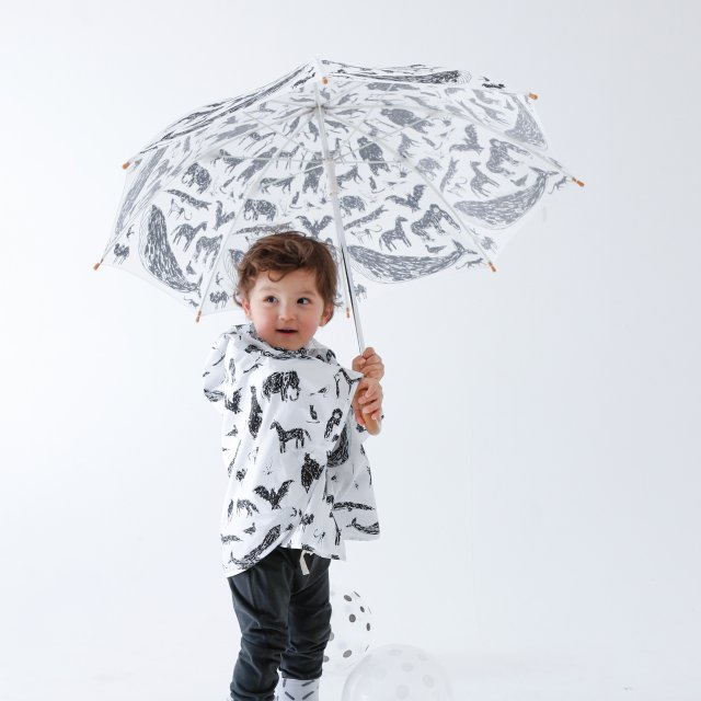 ANIMAL UMBRELLA with Tanaka Kentarou White img2