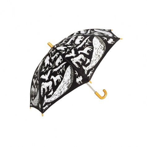【在庫限り】ANIMAL UMBRELLA with Tanaka Kentarou Black