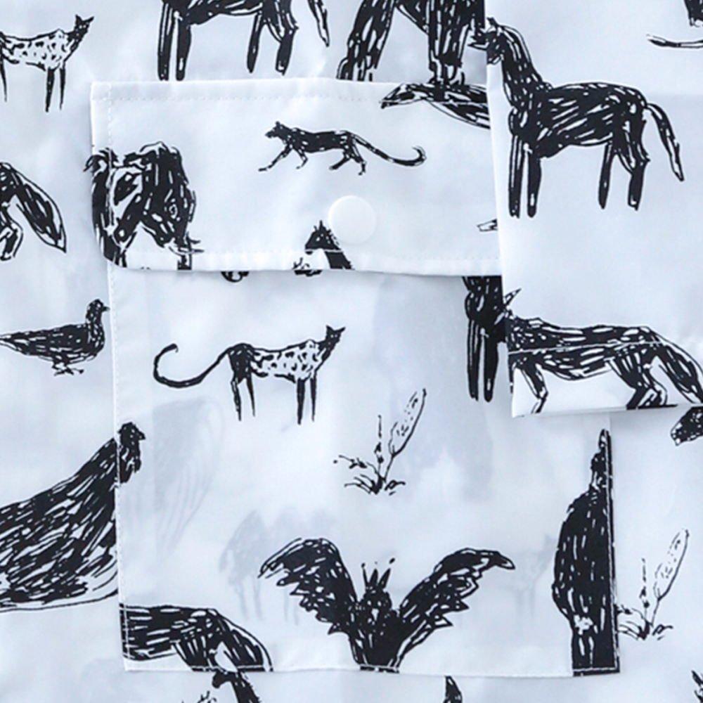 Geometry Raincoat Animal img2