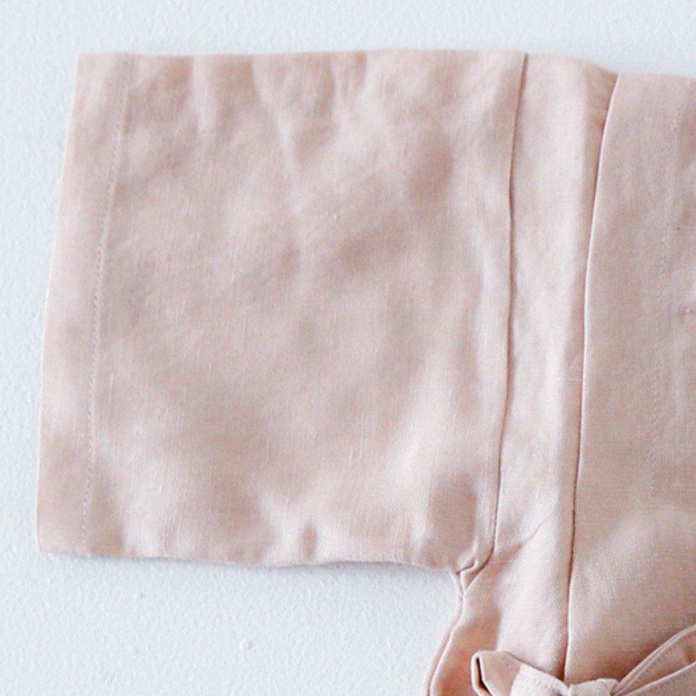 Linen Jinbei Separate Pink img2