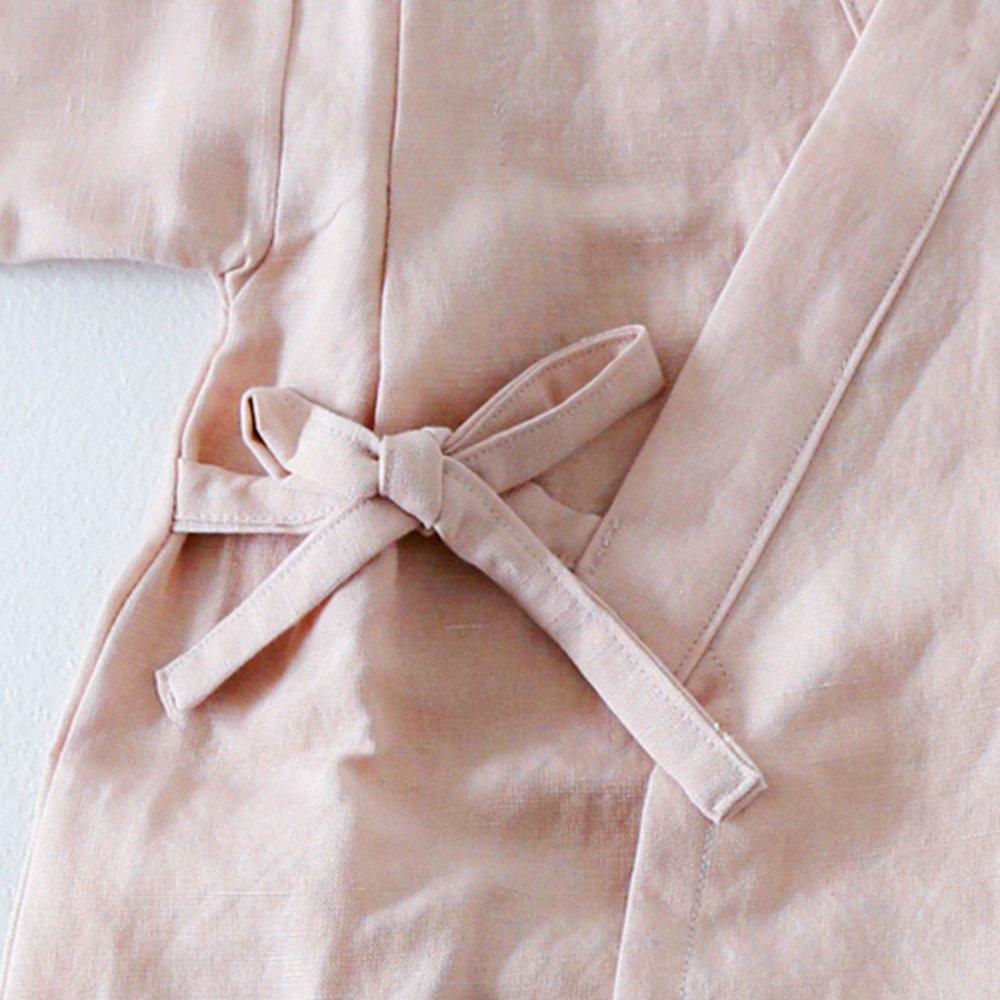 Linen Jinbei Separate Pink img3