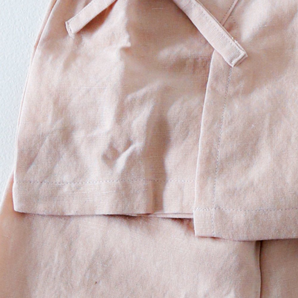Linen Jinbei Separate Pink img4