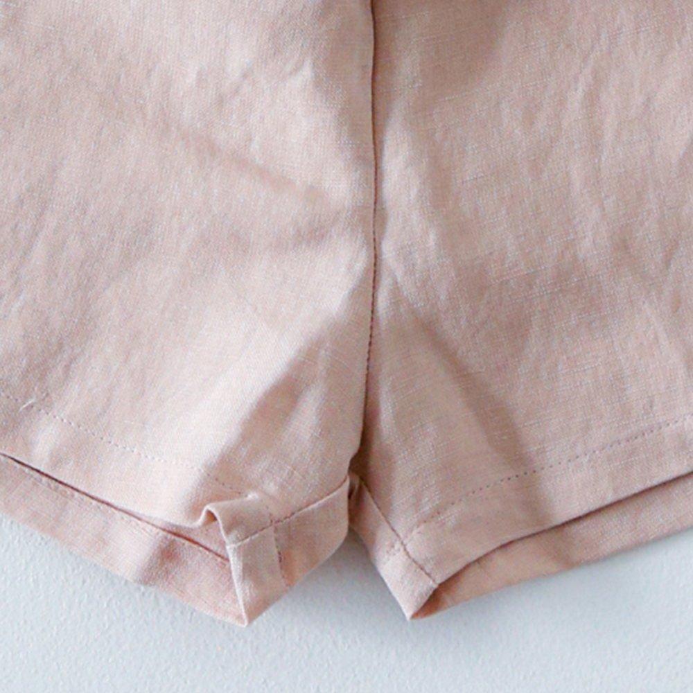 Linen Jinbei Separate Pink img5