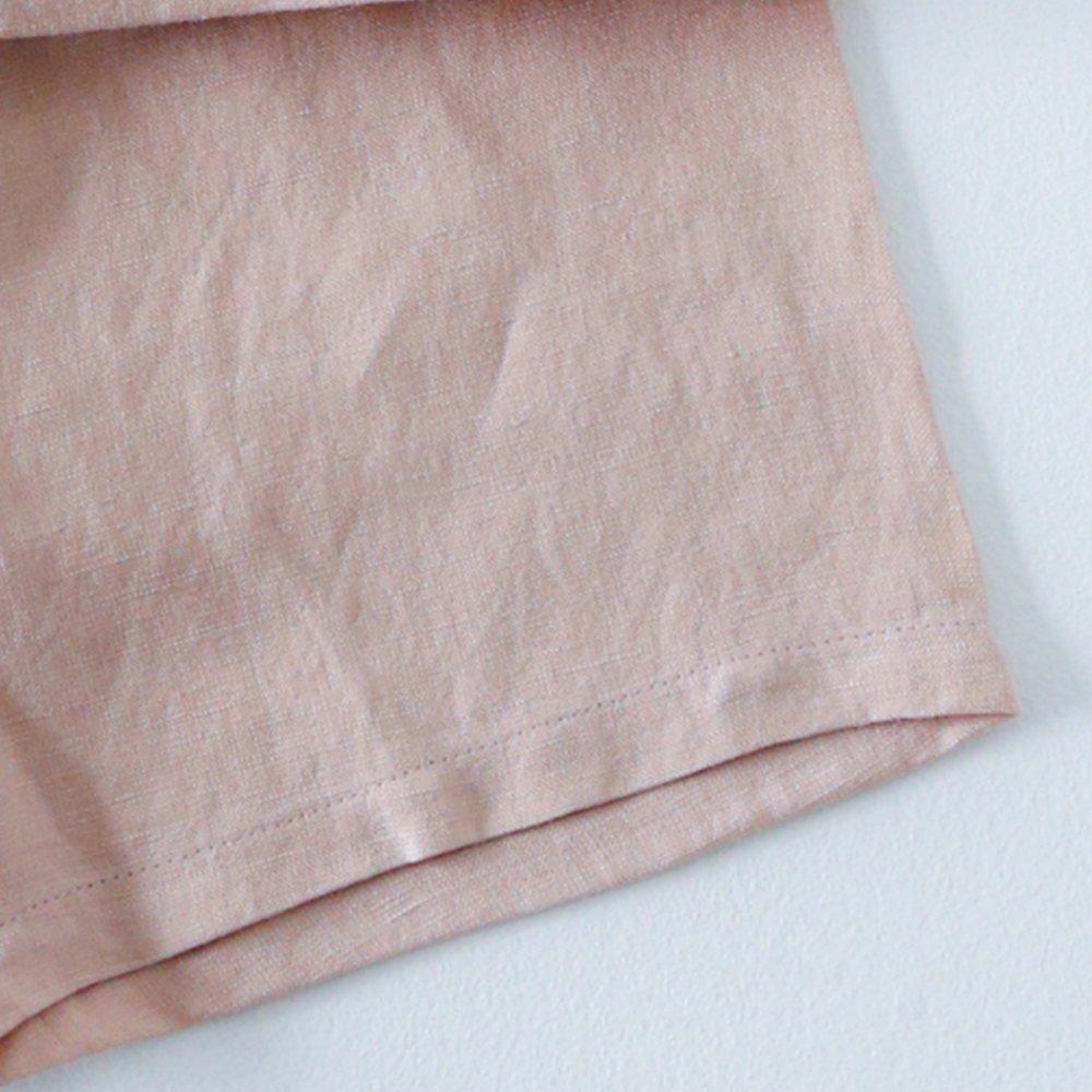 Linen Jinbei Separate Pink img6