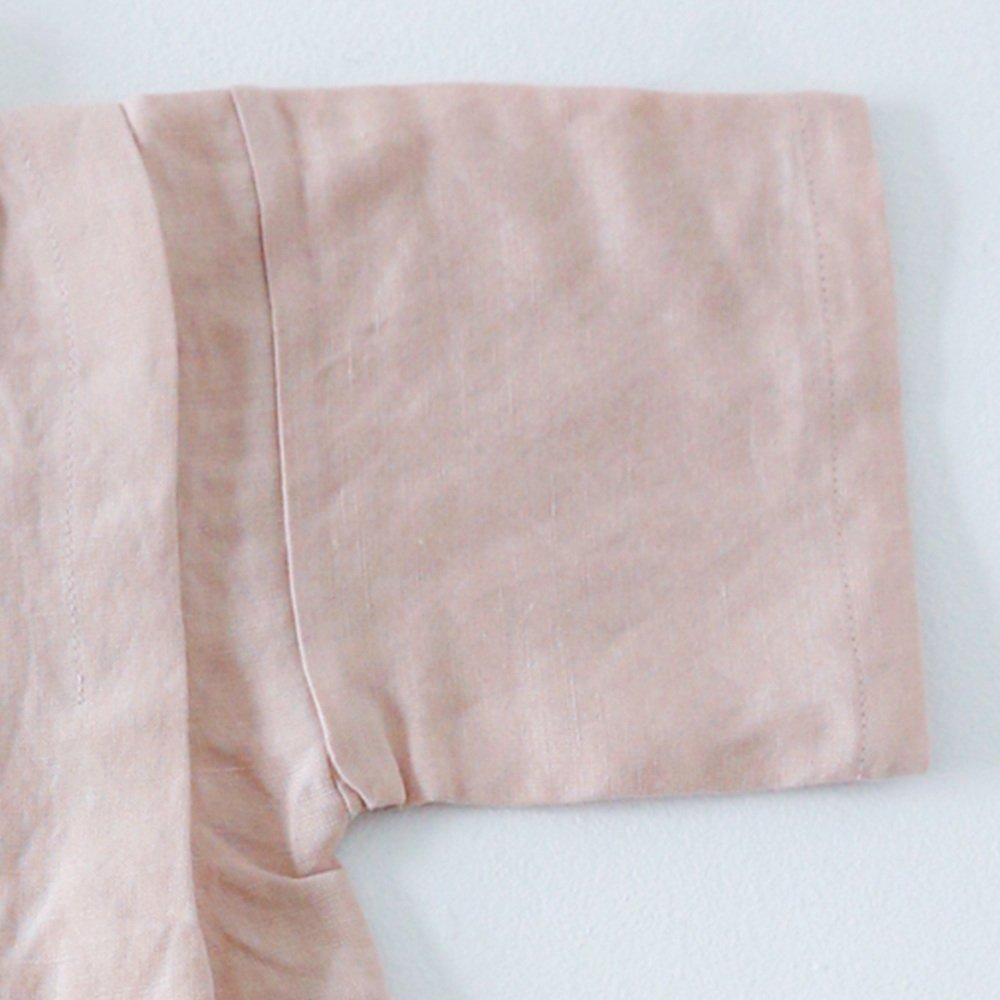 Linen Jinbei Separate Pink img7