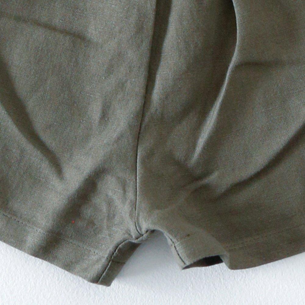 Linen Jinbei Separate Khaki img4