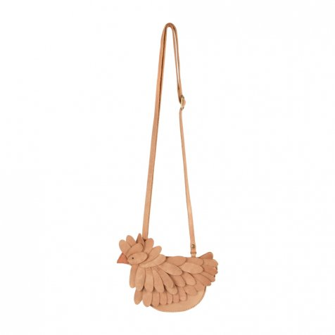【SUMMER SALE 20%OFF】 Boda Purse Caramel Metallic Nubuck