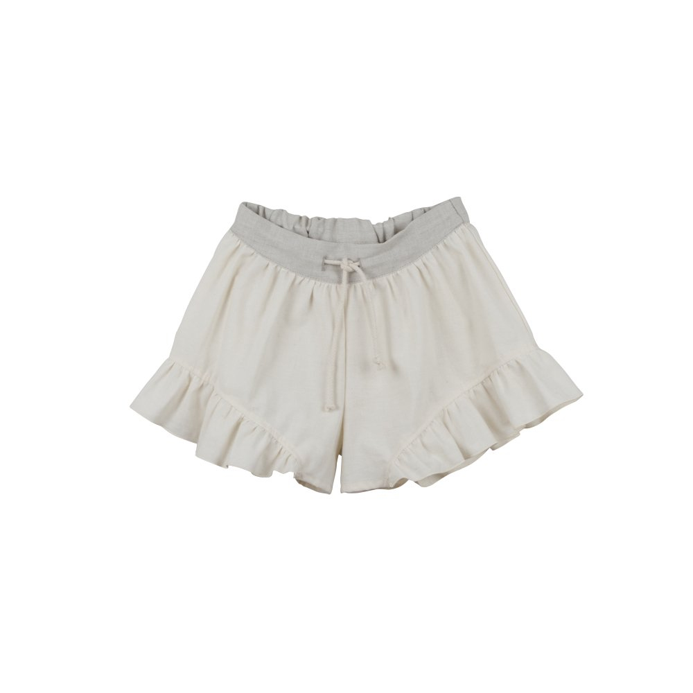 【SUMMER SALE 20%OFF】 Loose-fitting natural-coloured shorts img