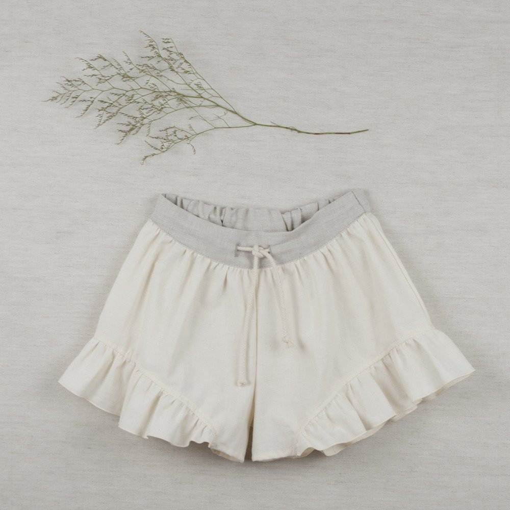 【SUMMER SALE 20%OFF】 Loose-fitting natural-coloured shorts img1