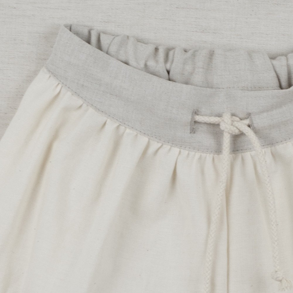 【SUMMER SALE 20%OFF】 Loose-fitting natural-coloured shorts img2